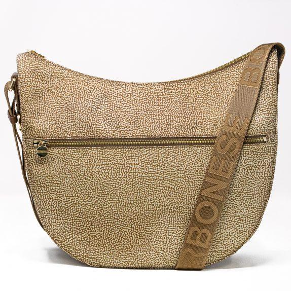 Borbonese Luna Bag Medium Noce