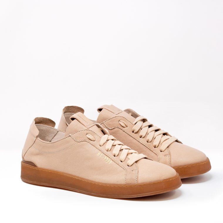 Stokton Sneakers Pelle Cipria obliquo