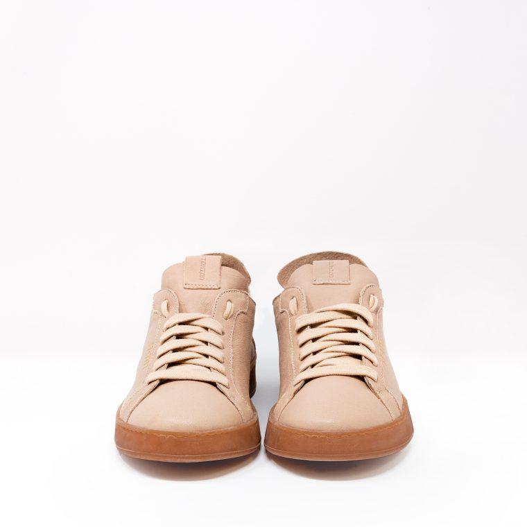 Stokton Sneakers Pelle Cipria fronte