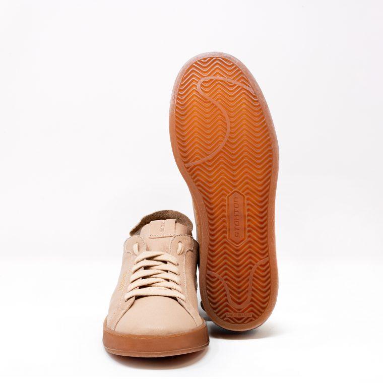 Stokton Sneakers Pelle Cipria