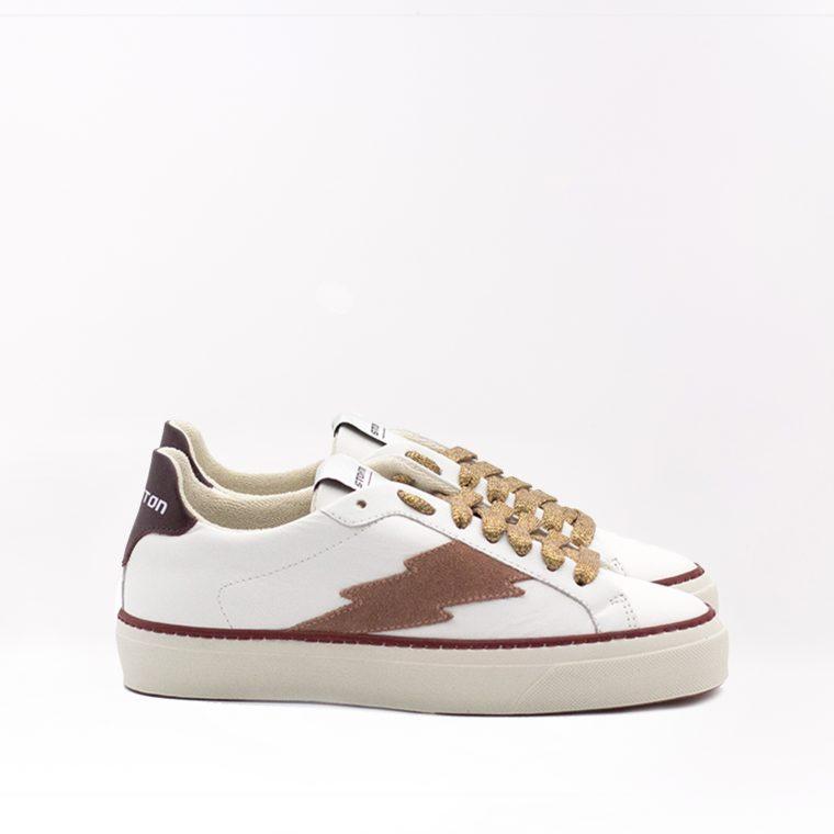 Stokton Sneaker Blaze Malaga Bianca e Rossa fronte